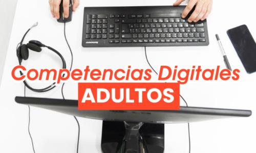 Competencias digitales: Adultos